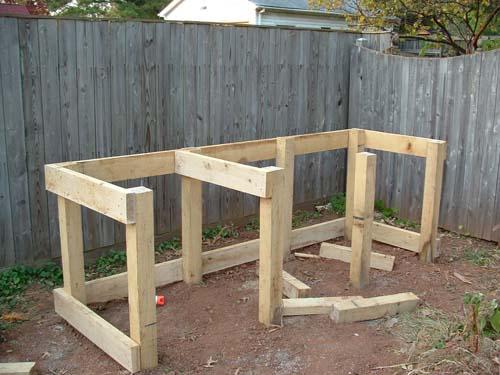 Compost Bin Progress Revolutionary Gardens