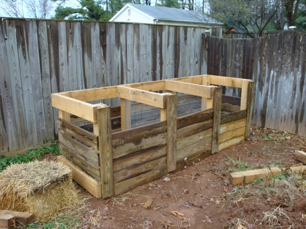 How To Build A Wood Compost Bin Free Download Adjustable