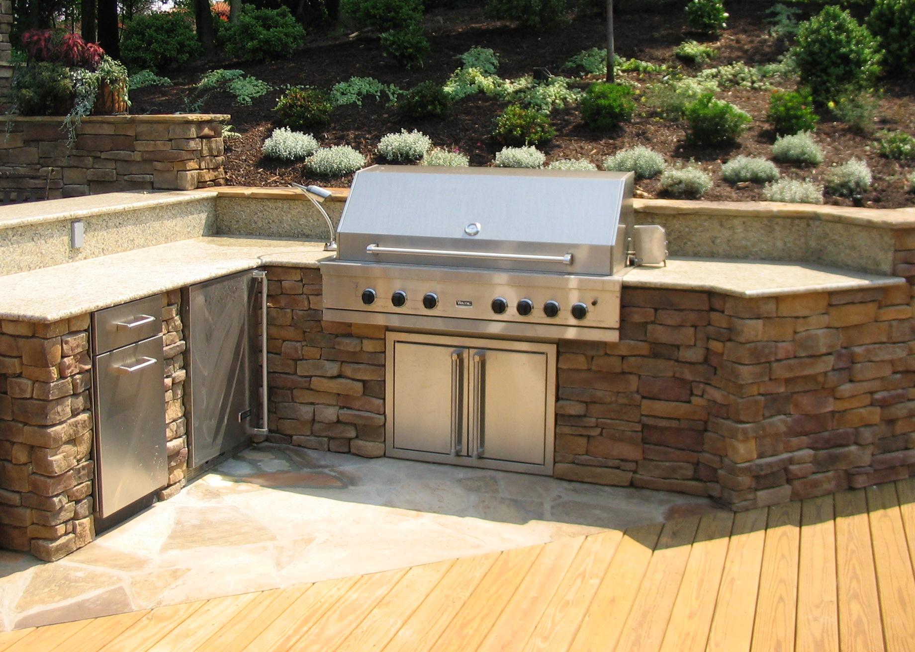 Designing an Outdoor Kitchen - Revolutionary Gardens on Exterior Grill Design id=19920